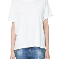 STRIPED T-SHIRT - T-shirts - TRF - ZARA United States