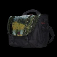 Mountain Portrait Laptop Bag from Zazzle.com