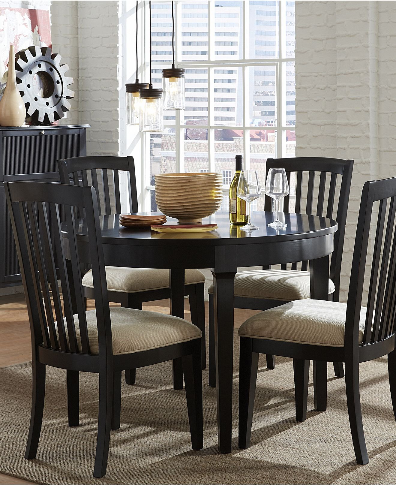 Captiva Round Dining Room Furniture from Macys