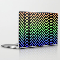 Chevons and Diamonds II Laptop &amp; iPad Skin by Lyle Hatch