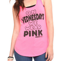 Mean Girls Neon Pink Girls Tank Top | Hot Topic