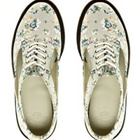Dr Martens Kensington Caryn Cut Out Floral Shoes at asos.com