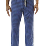 Bottoms Out Mens Relaxed Fit Woven Lounge/Sleepwear Pants - Plaid Patterns Available