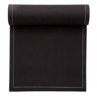 MYdrap-Cotton Dinner Napkin-Black - Table Linens  - Dining
