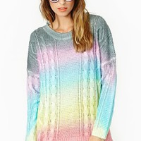 Cake Rainbow Knit