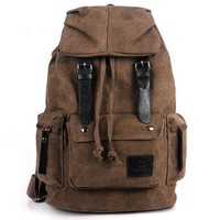 Outdoor Canvas Backpack