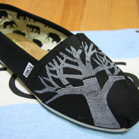 Tree TOMS shoes by themattbutler on Etsy