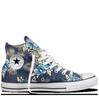 Converse - Chuck Taylor  Hawaiian Print - Hi- Blue