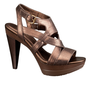 Flora Metallic Criss-Cross Pump
