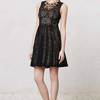 Anthropologie - Flare Dot Dress