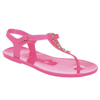 Jelly Skull T-Strap Sandal | Shop Shoes at Wet Seal