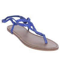 Braided Horseshoe Sandal | Shop Shoes at Wet Seal