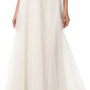 Theia Illusion Skirt with Beaded Waist | SHOPBOP
