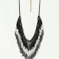 Free People Ombre Fringe Collar