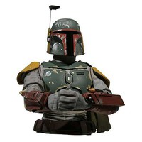 Star Wars Boba Fett Bust Bank - Diamond Select - Star Wars - Banks at Entertainment Earth