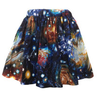 Short Space Skirt by Shadowplaynyc on Etsy