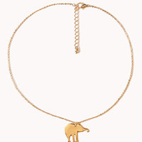 Elephant Charm Necklace