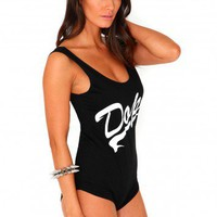Missguided - Roxanne Dope Bodysuit In Black