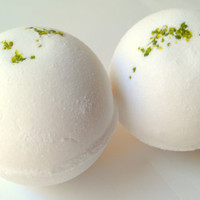 Coconut Lime Bath Bomb by ZEN-ful, Bath Bombs, Bath Fizzy, Gift Ideas, Gifts For Her, Bath Bombs 5.5 oz.
