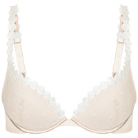 Stella McCartney Fiona Popping mesh plunge bra – 45% at THE OUTNET.COM
