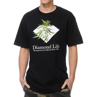 Diamond Supply Homegrown Black Tee Shirt