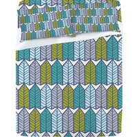 DENY Designs Home Accessories | Heather Dutton Arboretum Leafy Greens Sheet Set