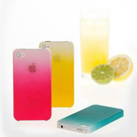 Gradient Hard Cover Case For Iphone 4/4s
