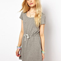 Vero Moda Drawstring Waist Dress at asos.com