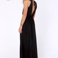 LULUS Exclusive The Great Maxi Black Maxi Dress