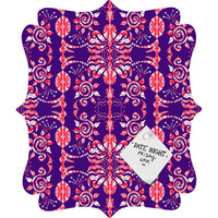 DENY Designs Home Accessories | Paula Ogier Rajah Quatrefoil Magnet Board