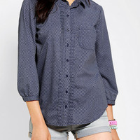 Urban Outfitters - Kimchi Blue Pin Tuck Button-Down Shirt
