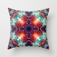 Fire Away Throw Pillow by TheLeb