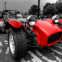 Lotus Caterham Super 7 001 Photograph by Lance Vaughn - Lotus Caterham Super 7 001 Fine Art Prints and Posters for Sale