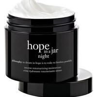 philosophy &#x27;hope in a jar night&#x27; intensive retexturizing moisturizer | Nordstrom