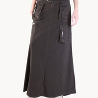 Trendy Boho Skirts - Long Cargo Skirt
