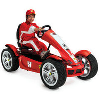 The High Performance Ferrari Pedal Car - Hammacher Schlemmer