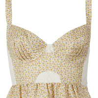 Peplum Frill Corset - New In This Week - New In - Topshop
