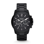 FS4723 - Grant Chronograph Stainless Steel Watch - Black