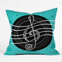 DENY Designs Home Accessories | Lisa Argyropoulos Solo Aquatic Blues Outdoor Throw Pillow