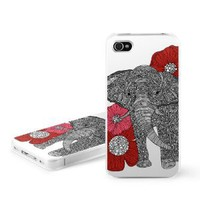 The Elephant Design Snap on Hard Case Faceplate Cover for Apple iPhone 4 / 4S 16GB 32GB 64GB
