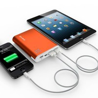 Jackery Giant 10400mAh (Orange) Dual 5V 3A USB Output External Battery Pack