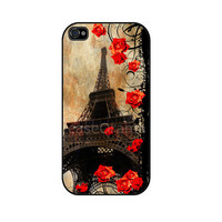 Eiffel Tower iPhone 4 iPhone 4 case iPhone 4S case by caseOrama