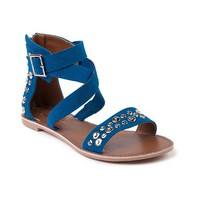 Womens Shi by Journeys Jane Sandal in Turquoise Silver | Shi by Journeys