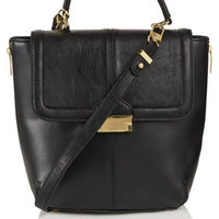 Push Lock Cross Body Bag