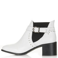 ADRIENNE Stud Boots - Boots  - Shoes