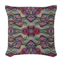Gates of the Nereids Woven Throw Pillow> Throw Pillows> Janet Antepara Designs