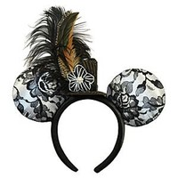 Minnie Mouse Ear Headband - Lace | Disney Store