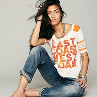 Free People We The Free Surfer Football Tee