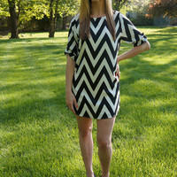 Chevronista Dress | Pretty Edgy