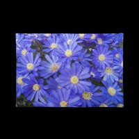 Blue Anemones Placemat from Zazzle.com
